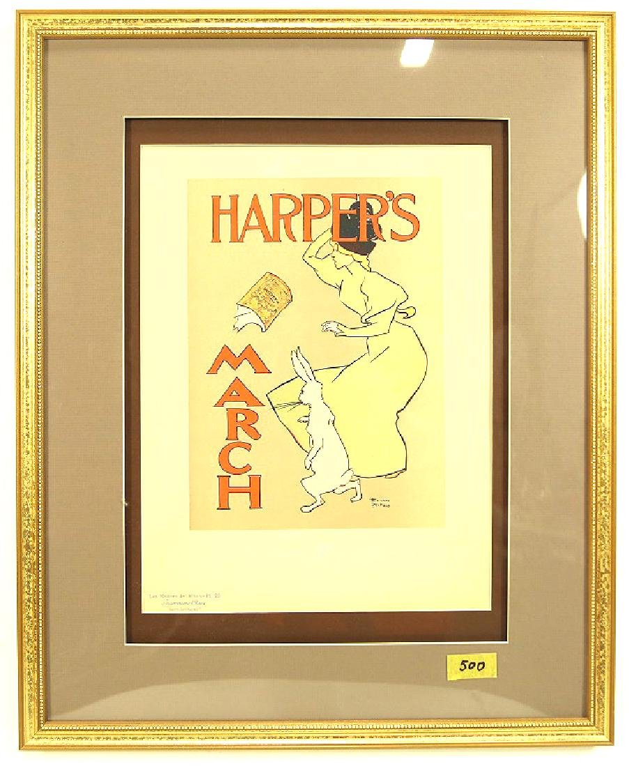 HARPERS EDWARD PENFIELD POSTER