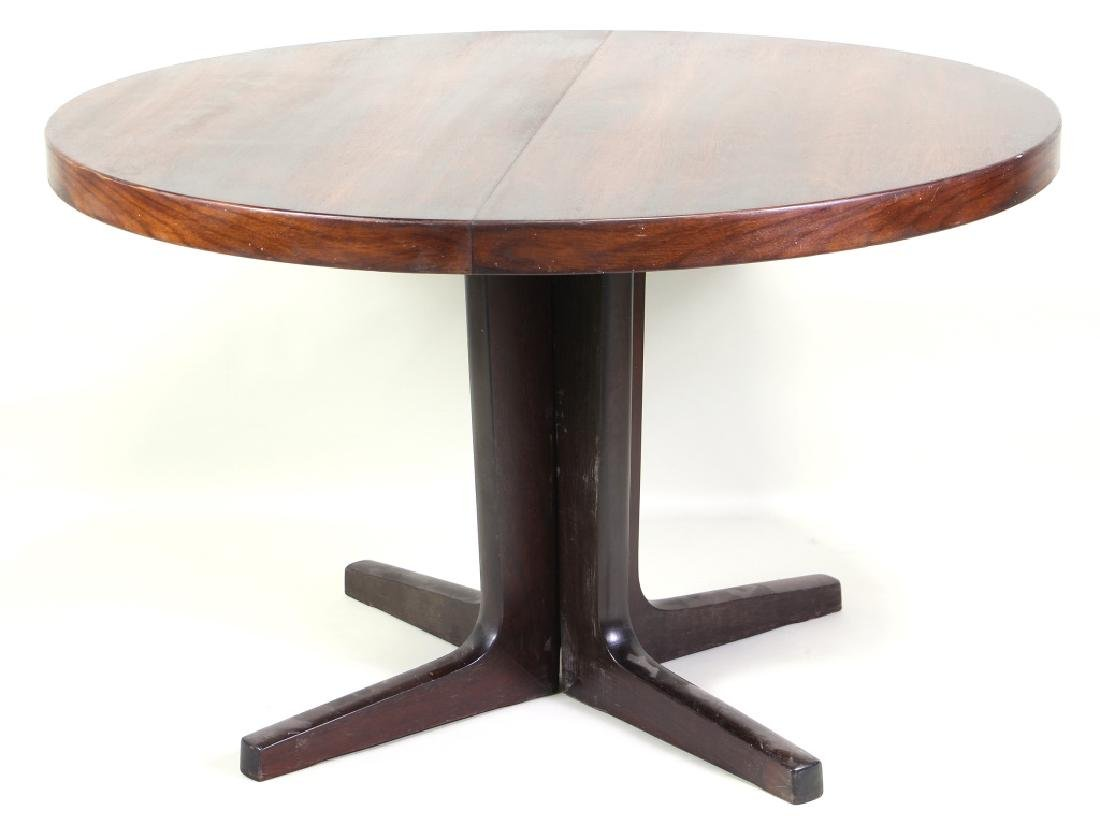 MID-CENTURY MODERN ROSEWOOD BREAKFAST TABLE