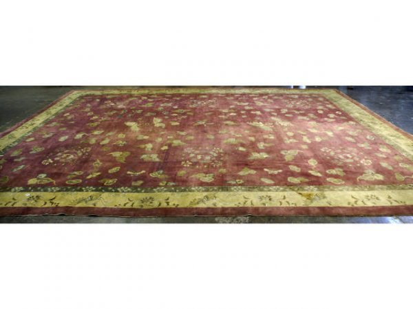 170: Antique Chinese Nickels Rug