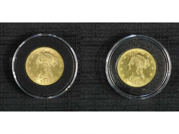 11D: 1882 $10 Liberty gold coin. Condition: Choice, Nea