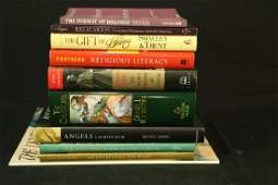 MIXED LOT OF 10 RELIGIOUS ART BOOKS