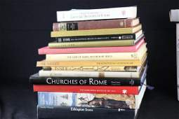 MIXED LOT OF 14 RELIGIOUS ART BOOKS