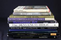 MIXED LOT OF 11 RELIGIOUS ART BOOKS