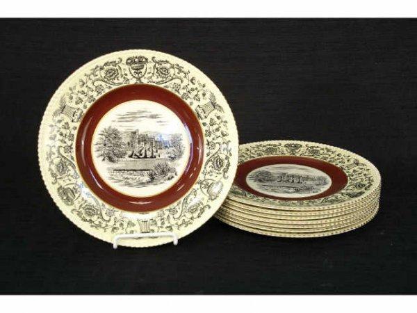 "2005: 8 Fondeville England ""American Ware"" dinner plate"