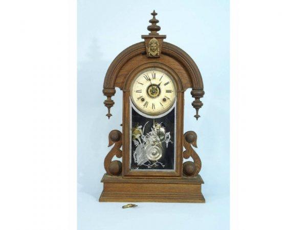 2007: 19th Century Victorian American mantel clock by t