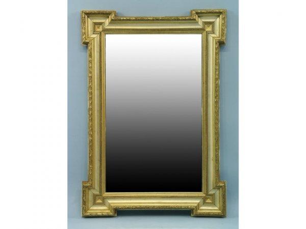 2014: Antique gilt beveled mirror.