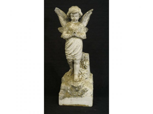 2015: Early 19th Century white marble statue