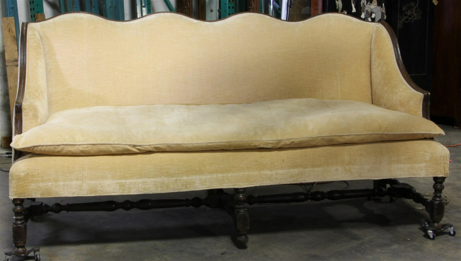 18th/19th CENTURY COUNTRY FRENCH FOUR CHAIR SOFA