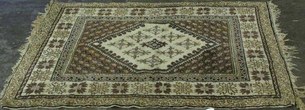 3010: TURKISH DESIGN HANDMADE WOOL RUG
