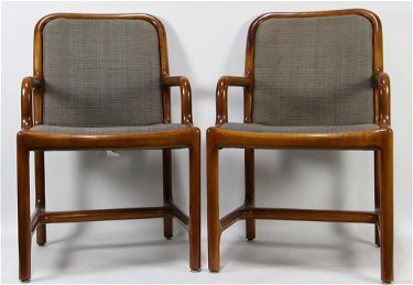 Awe Inspiring Pair Of Helikon Mid Century Modern Armchairs Height Ocoug Best Dining Table And Chair Ideas Images Ocougorg