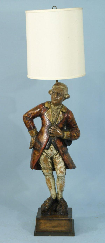 1014: A GEORGE WASHINGTON FLOOR LAMP