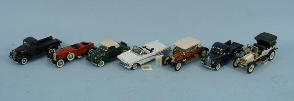 1004A: BOX LOT OF FRANKLIN MINT PRECISION CARS