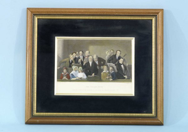 """2001: ENGRAVING SIGNED """"T.WEBSTER, R. A. PINXT"""""""