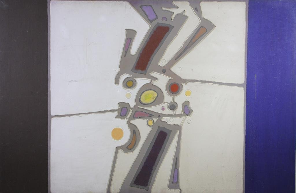 PAUL MAXWWELL (NEW ORLEANS, LA) ABSTRACT PAINTING