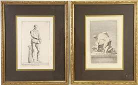 LOT OF TWO ENGRAVINGS