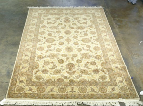 3006: HANDWOVEN MAHAL RUG FROM INDIA
