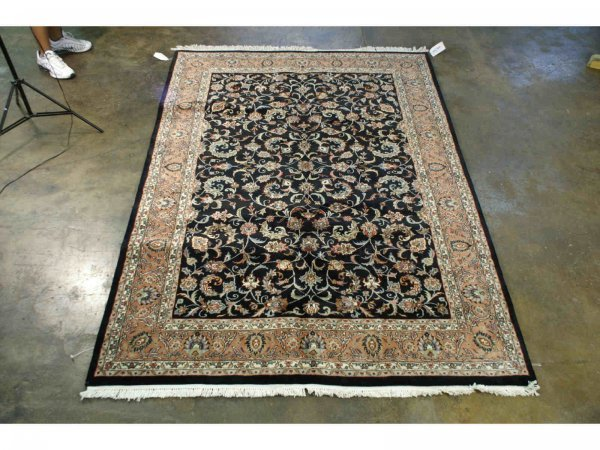 3023: HANDWOVEN KASHAN RUG FROM INDIA
