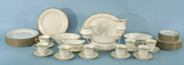 2: BOX LOT OF DINNERWARE BY NORITAKE IVORY CHINA