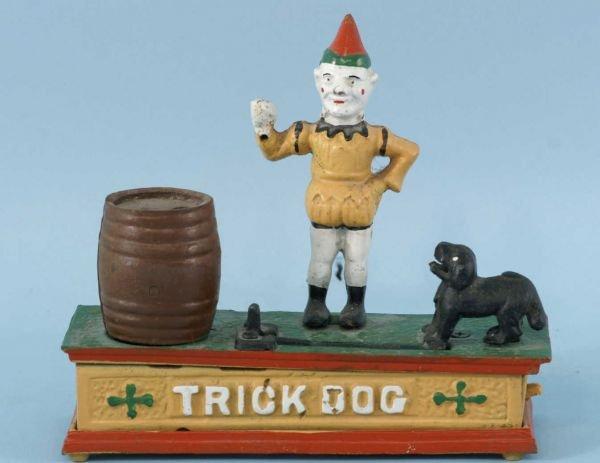 11A: VINTAGE 1960's TRICK DOG MECHANICAL BANK.
