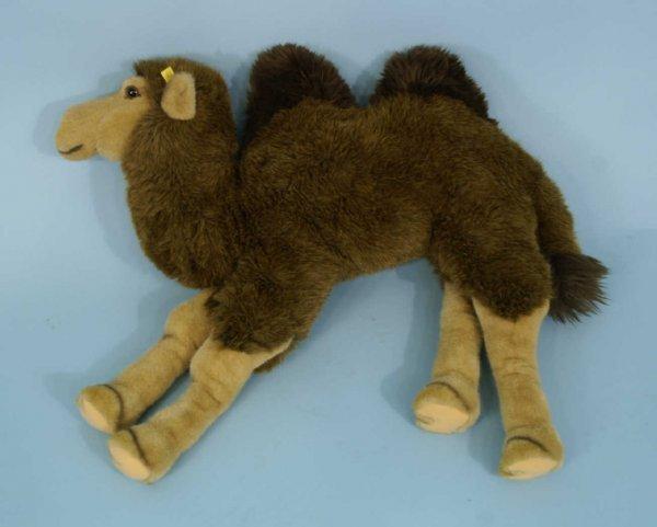 1003: STUFFED CAMEL BY STEIFF, GERMANY