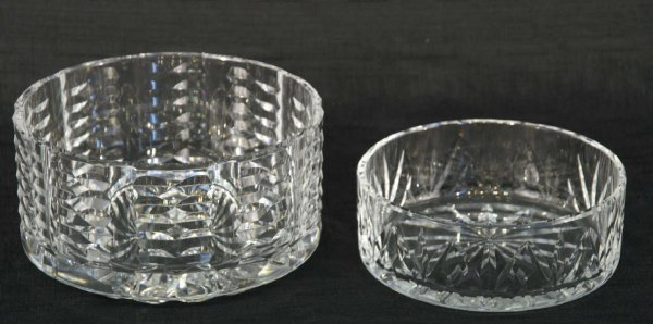 1173: TWO WATERFORD BOWLS