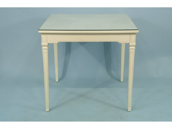 1181: A PAINTED CARD TABLE