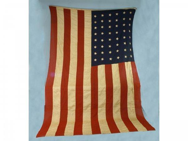 10: A RARE 48 STAR UNITED STATES FLAG