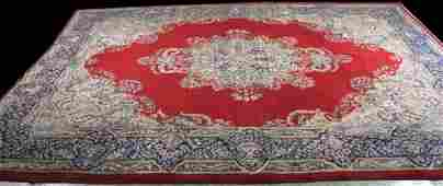 HAND KNOTTED PERSIAN KERMAN RUG
