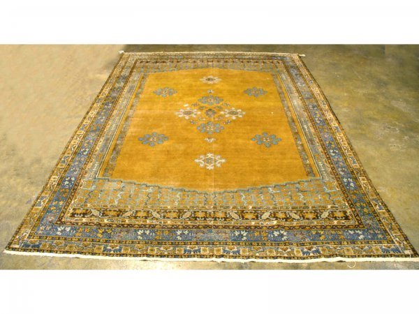 1017: HAND KNOTTED PERSIAN RUG