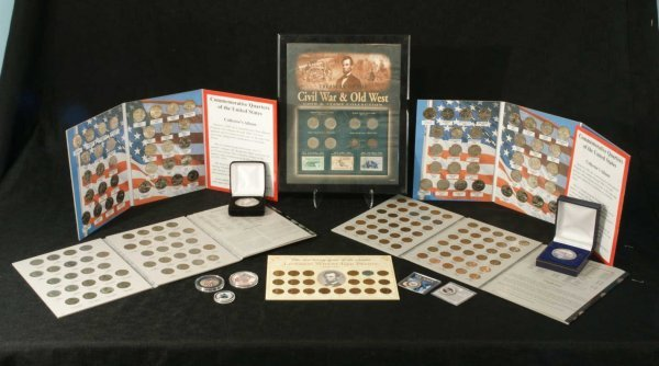 2003: TREASURY OF THE CIVIL WAR AND OLD WEST COINS