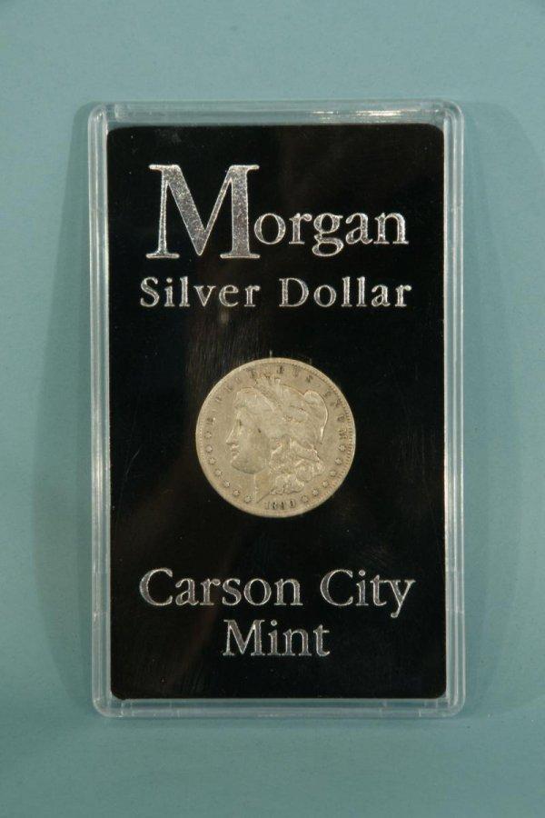 2013: LOT OF A MORGAN SILVER DOLLAR