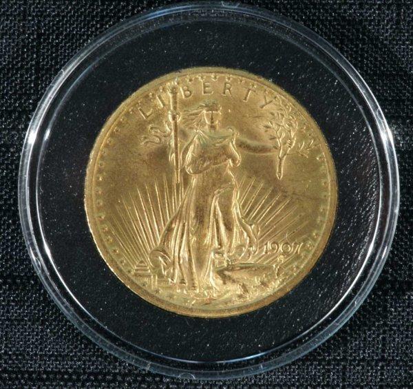 2023: A $20.00 1907-S LAST YEAR OF SAN FRANCISCO LIBERT