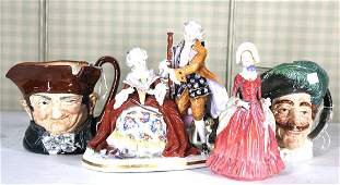 MIXED LOT OF PORCELAIN FIGURINES