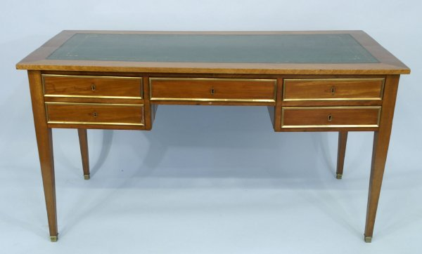 16: 19th CENTURY FRENCH LOUIS PHILLIPE WALNUT DESK