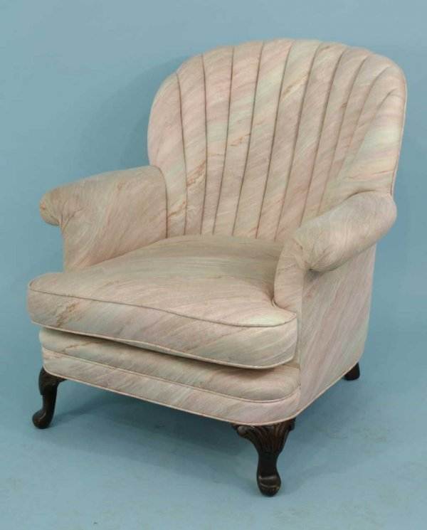 4004: BERGERE ARMCHAIR WITH SHELL BACK DESIGN