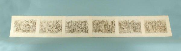 162: SIX ENGRAVINGS FROM COLUMNAE TRAJANI, CA. 1773