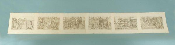 163: SIX ENGRAVINGS FROM COLUMNAE TRAJANI, CA. 1773