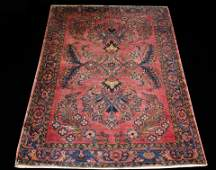 ANTIQUE HAND KNOTTED PERSIAN LILIHAN SAROUK RUG