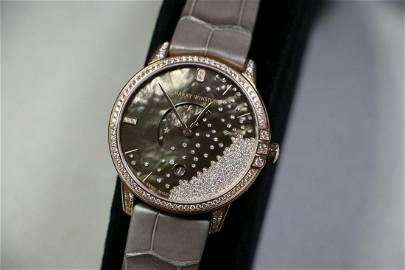 Harry Winston Midnight Drops Moon Phase 39mm Rose Gold