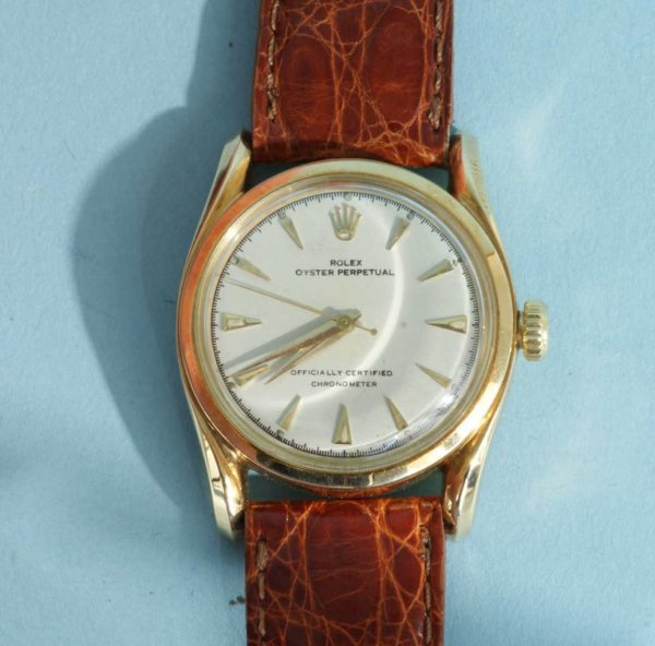 1035B: ROLEX OYSTER PERPETUAL CERTIFIED CHRONOMETER