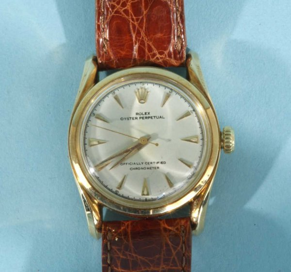 1035B: ROLEX OYSTER PERPETUAL CERTIFIED CHRONOMETER - 4