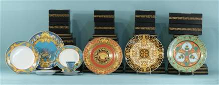 285: LOT OF VERSACE CHINA BY ROSENTHAL STUDIO LINE