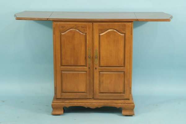 1: DROP LEAF BUTLER'S BAR WITH INTERIOR FITTINGS