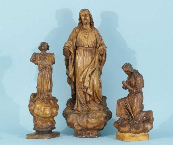 14: PRAYING JESUS, JESUS ASCENSION, KNEELING BOY