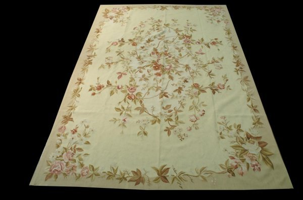 11: FRENCH AUBUSSON STYLE RUG