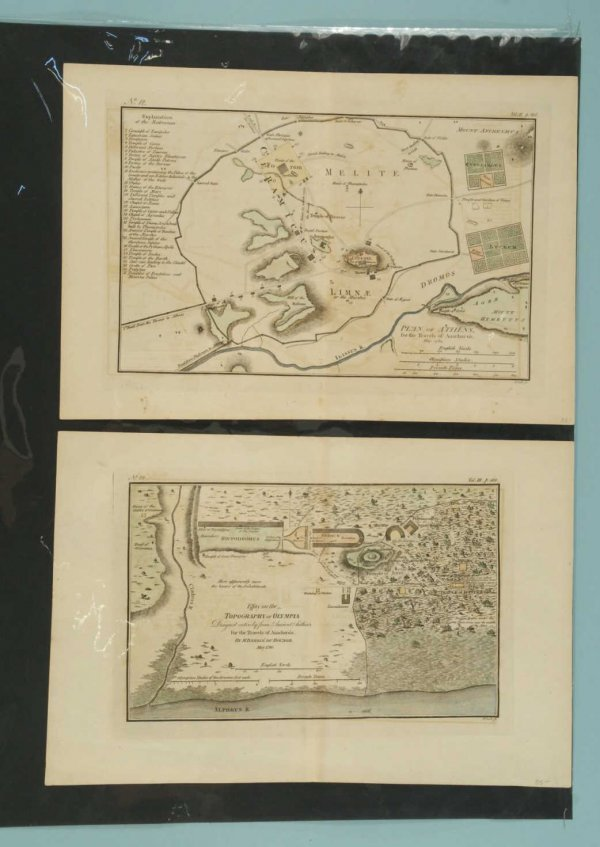 3C: LOT OF TWO ANTIQUE MAPS