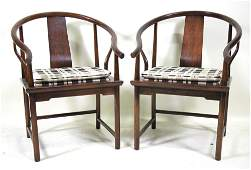 PAIR OF VINTAGE MICHAEL TAYLOR LOUNGE CHAIRS
