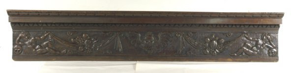 1: 17th/18th CENTURY ITALIAN WOOD CARVED SHELF