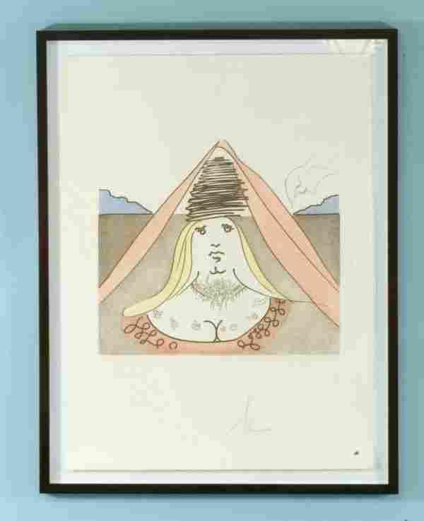 "87: SALVADOR DALI ""LADY DULCINEA"" EDITION #281/300"
