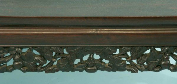 98: TWO ANTIQUE CHINESE CARVED COFFEE TABLES - 5